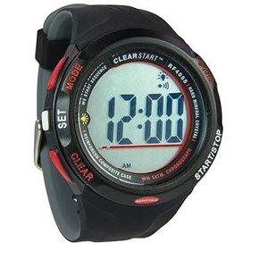 Clear start sailing watch 50mm black