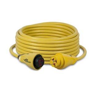 EEL cordset 30A 125V yellow 50'