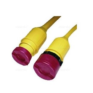 Cord cap set for 30A power cord