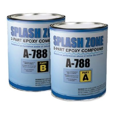 Pettit Splash Zone epoxy kit 1 / 2 gallon