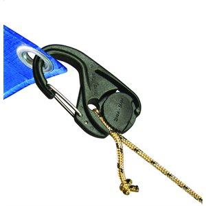 Camjam cord tightener