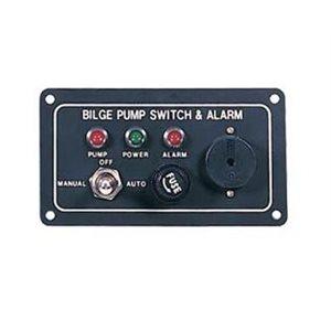 "Bilge switch with alarm panel 4-1 / 2"" x 2-1 / 2"""