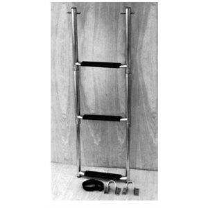 Ladder telescopic 3 step bracket mount