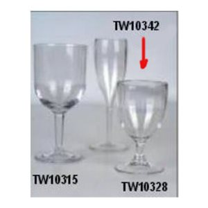 Glasses wine small 200ml (4)